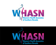 WHASN Women's Health Associates of Southern Nevada Logo - Entry #16