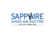 Sapphire Shades and Shutters Logo - Entry #120