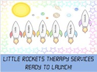 Little Rockets Therapy Services Logo - Entry #80