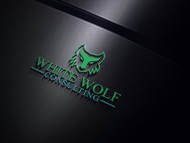 White Wolf Consulting (optional LLC) Logo - Entry #490