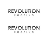 Revolution Roofing Logo - Entry #17