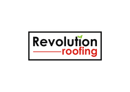 Revolution Roofing Logo - Entry #157