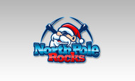 North Pole Rocks Logo - Entry #2