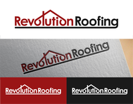 Revolution Roofing Logo - Entry #395