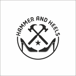 Hammer and Heels Logo - Entry #24
