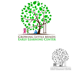 Growing Little Minds Early Learning Center or Growing Little Minds Logo - Entry #47