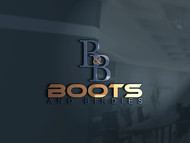 Boots and Birdies Logo - Entry #74
