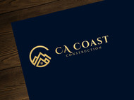 CA Coast Construction Logo - Entry #118
