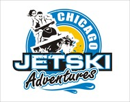 Chicago Jet Ski Adventures Logo - Entry #31