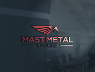 Mast Metal Roofing Logo - Entry #153