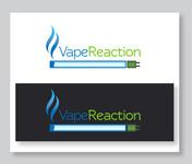 Vape Reaction Logo - Entry #130