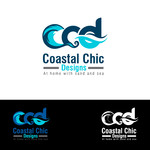 Coastal Chic Designs Logo - Entry #60