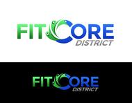 FitCore District Logo - Entry #47