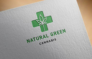 Natural Green Cannabis Logo - Entry #12