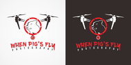 When Pigs Fly Photography Logo - Entry #57
