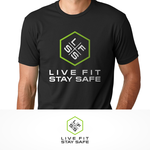 Live Fit Stay Safe Logo - Entry #90
