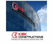 KBK constructions Logo - Entry #82