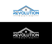 Revolution Roofing Logo - Entry #123