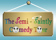 The Semi-Saintly Comedy Tour Logo - Entry #49