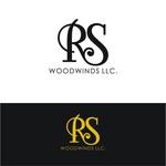 Woodwind repair business logo: R S Woodwinds, llc - Entry #93