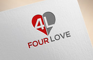 Four love Logo - Entry #123