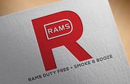 Rams Duty Free + Smoke & Booze Logo - Entry #206