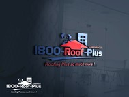 1-800-Roof-Plus Logo - Entry #181