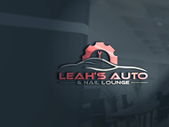 Leah's auto & nail lounge Logo - Entry #182