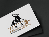 Shepherd Drywall Logo - Entry #151