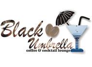 Black umbrella coffee & cocktail lounge Logo - Entry #17