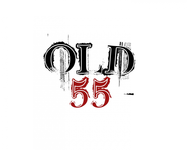 """""""OLD 55"""" - mid-century vintage furniture and wares store Logo - Entry #3"""