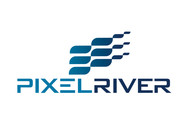Pixel River Logo - Online Marketing Agency - Entry #252