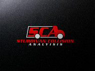 Sturdivan Collision Analyisis.  SCA Logo - Entry #57