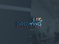 Growing Little Minds Early Learning Center or Growing Little Minds Logo - Entry #162