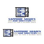 Sapphire Shades and Shutters Logo - Entry #63