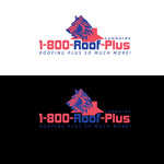 1-800-Roof-Plus Logo - Entry #33