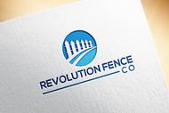 Revolution Fence Co. Logo - Entry #97