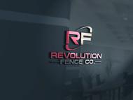 Revolution Fence Co. Logo - Entry #26
