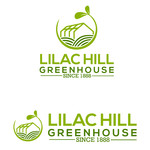Lilac Hill Greenhouse Logo - Entry #54
