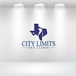 City Limits Vet Clinic Logo - Entry #289