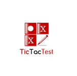 TicTacTest Logo - Entry #73