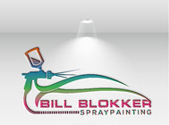 Bill Blokker Spraypainting Logo - Entry #130