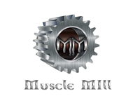 Muscle MIll Logo - Entry #120