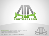 AIA CONTRACTORS Logo - Entry #19