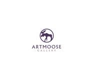 ArtMoose Gallery Logo - Entry #45