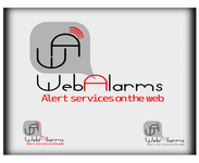 Logo for WebAlarms - Alert services on the web - Entry #197