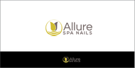 Allure Spa Nails Logo - Entry #76
