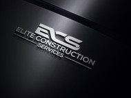 Elite Construction Services or ECS Logo - Entry #320