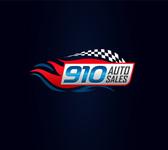 910 Auto Sales Logo - Entry #77