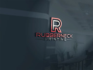 Rubberneck Printing Logo - Entry #47